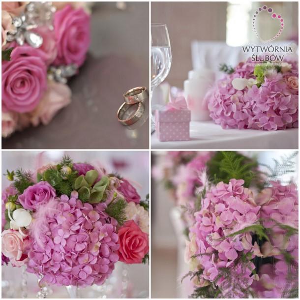 Różowo, słodko i romantycznie... Nasza realizacja