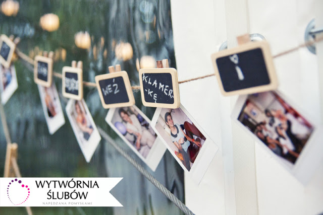 polaroid na wesele