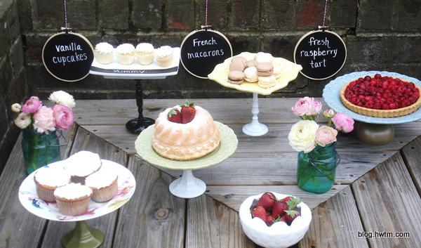 tablice kreda dekoracja słodkiego stołu