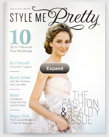Style Me PRETTY - zagraniczny on-line wedding magazine