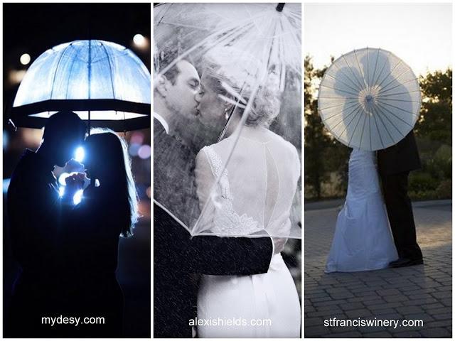 Pomysłowe gadżety do ślubnych sesji zdjęciowych