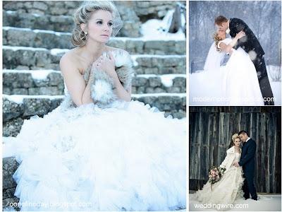 Zainspiruj się na ślub zimą!
