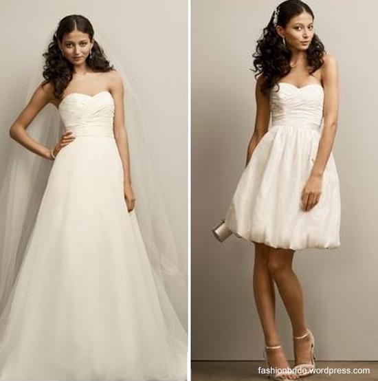Suknia ślubna 2w1?