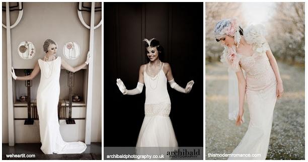 ślub W Stylu Lat 20 Tych Czyżby Hit 2013 Roku Blog ślubny I