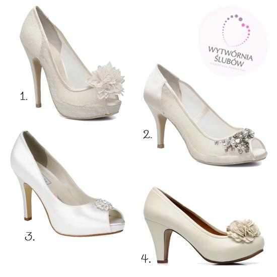Wybór Wytwórni Ślubów: białe buty