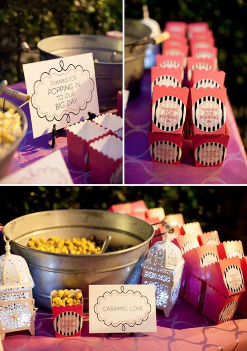 Kącik słodkości - uzupełnienie weselnego menu
