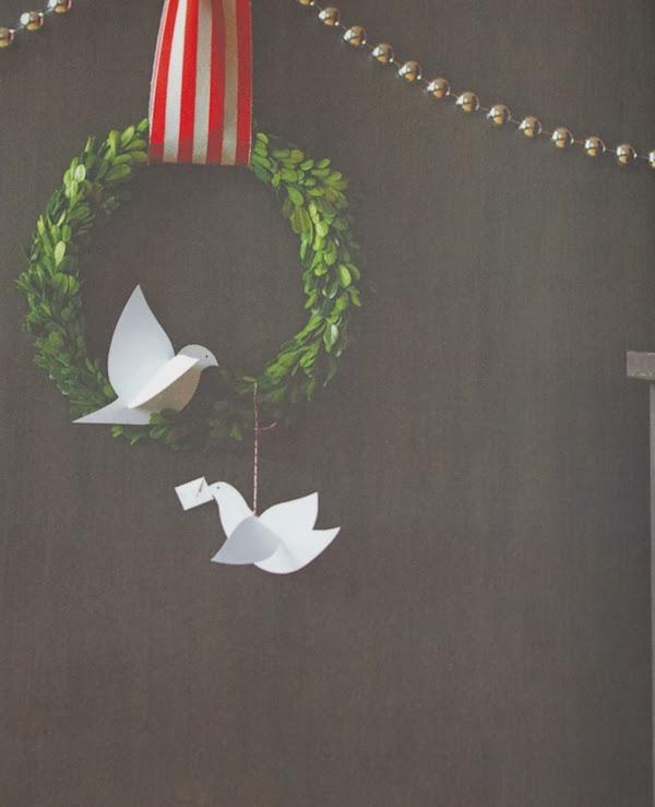DIY - Papierowe gołąbki