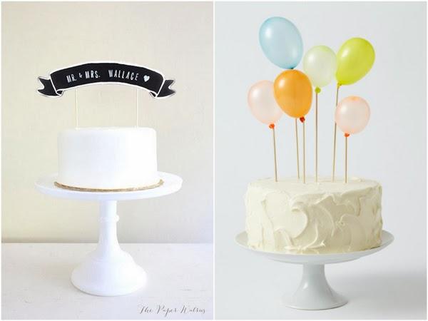 Dekoracje tortu weselnego