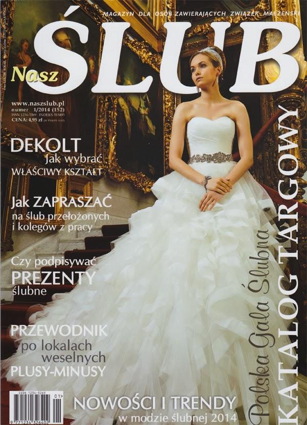 Przegląd prasy: Nasz Ślub 1/2014