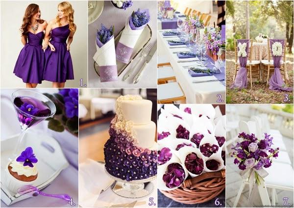 ślub W Odcieniu Fioletu Blog ślubny I Weselny Wytwórnia ślubów