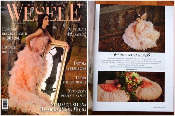 Przegląd prasy: Magazyn Wesele 4 2013/2014