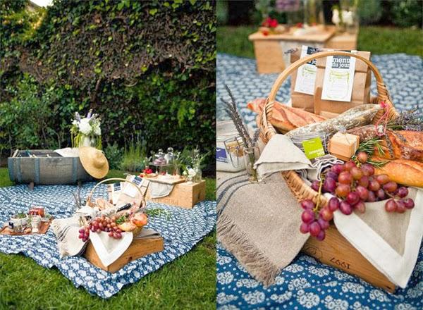 Ślubny piknik