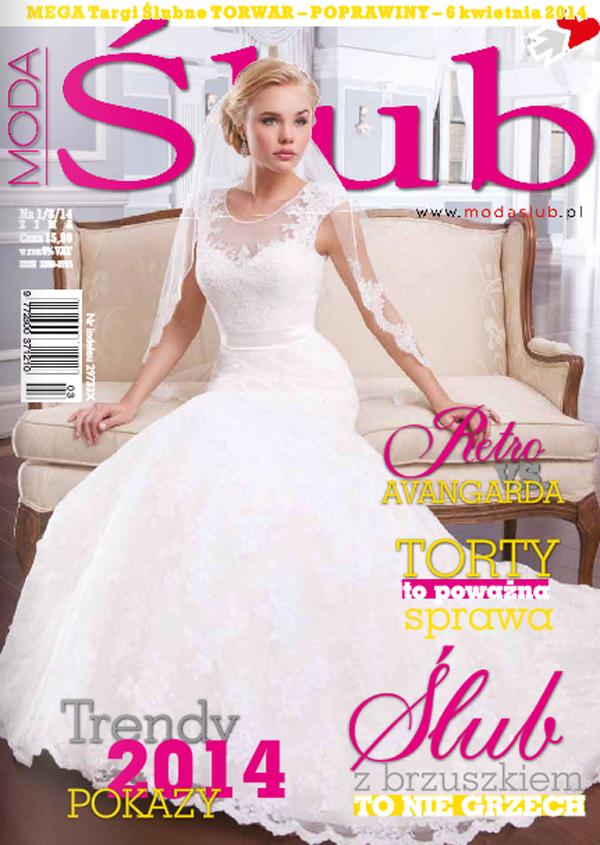Przegląd prasy: Moda Ślub 1/2014