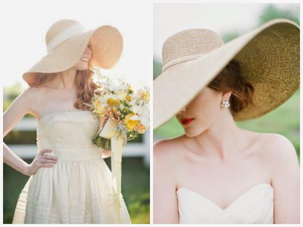 Ślubny kapelusz Panny Młodej