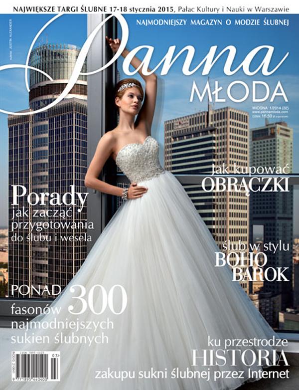 Przegląd prasy: Panna Młoda WIOSNA 1/2014