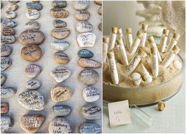 10 pomysłowych winietek na weselny stół