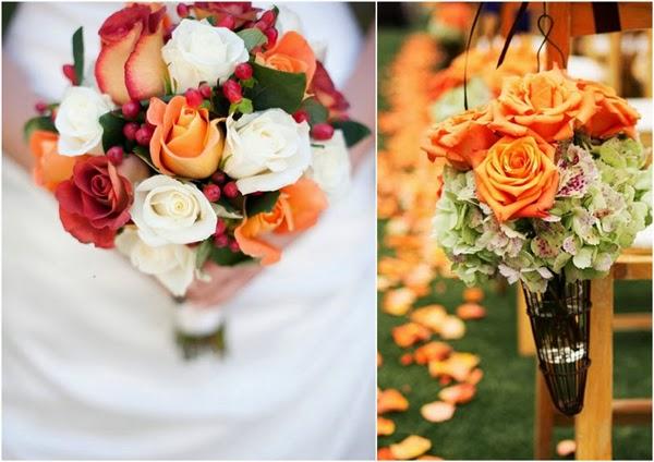 10 niezbędnych elementów na jesiennym ślubie
