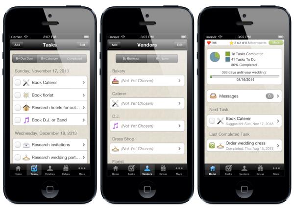 Aplikacje mobilne przydatne przy organizacji ślubu cz. 3