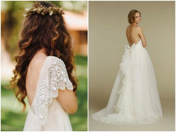 10 najpiękniejszych sukni ślubnych z odkrytymi plecami