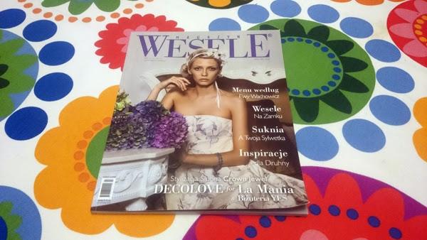 Przegląd prasy: Magazyn Wesele 3/2014