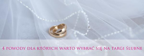 4 powody, dla których warto wybrać się na targi ślubne
