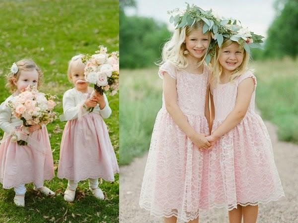 Druhenki, czyli jak ubrać małe dziewczynki na wielką uroczystość
