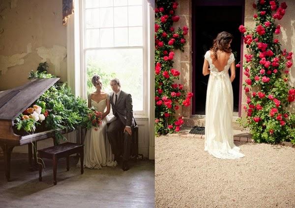 W pięknych okolicznościach przyrody (i nie tylko) - sesja ślubna