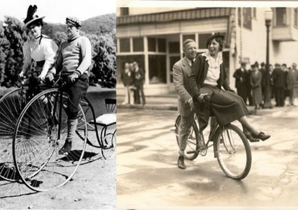Pochwała roweru - niezastąpiony element sesji zdjęciowych