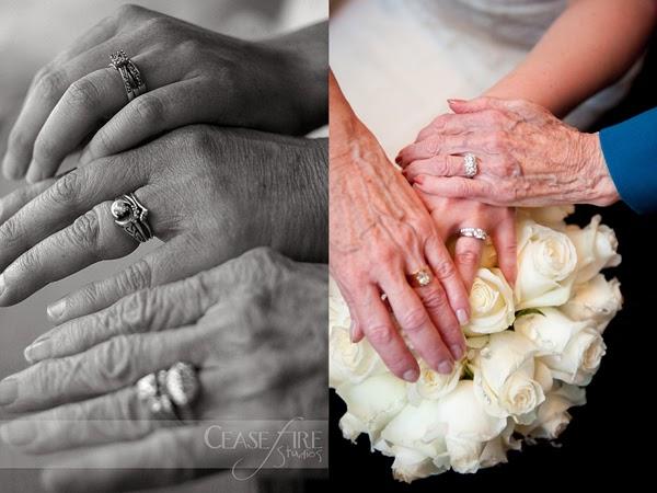 Obrączki z kilku pokoleń - pomysł na ślubną pamiątkę