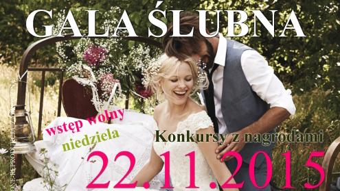 IX Pomorska Gala Ślubna - Hotel COURTYARD MARRIOTT w Gdyni 22.11