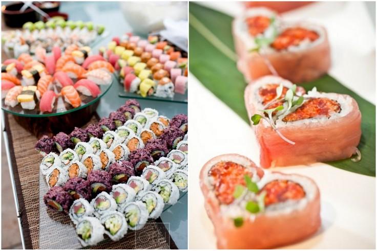 Sushi na weselu