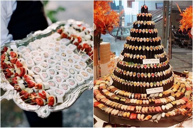 Wspaniały Weselne sushi - Blog Ślubny i Weselny - Wytwórnia Ślubów AR41