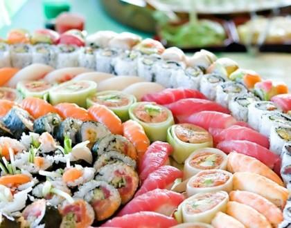 Weselne sushi