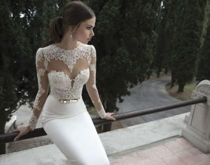 Suknia z tatuażem