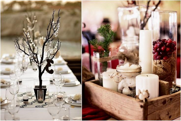 Stół weselny bez kwiatów