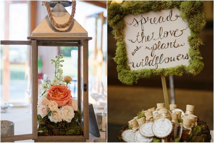 Mech dekoracyjny na weselu