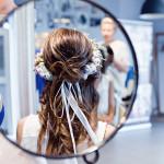 wianki do włosów Panna Młoda