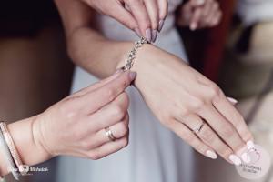 biżuteria ślubna bransoletka