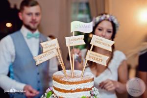 dekoracje ślubne słodki stół Gdynia