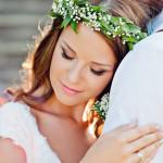 wianek panna młoda dekoracje ślubne