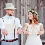 dekoracje ślubne - wianki, Gdynia