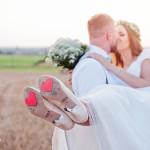 dekoracje ślubne - serca