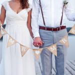 dekoracje ślubne - sesja plenerowa