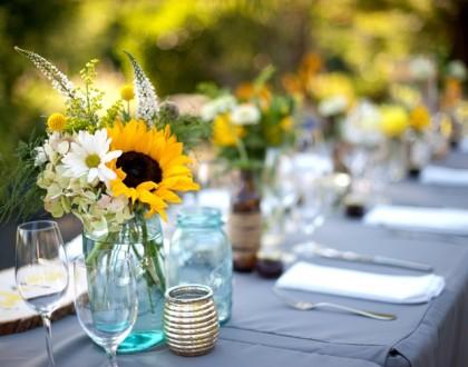 ślub słoneczniki