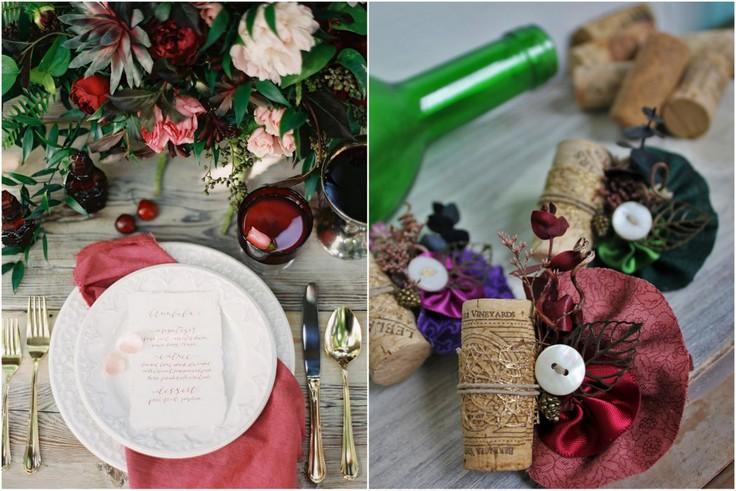 wesele w temacie wina