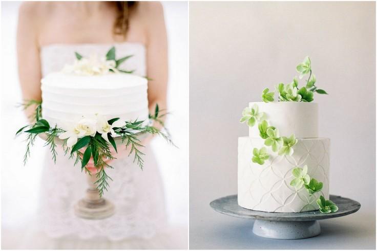 Torty weselne minimalistyczne