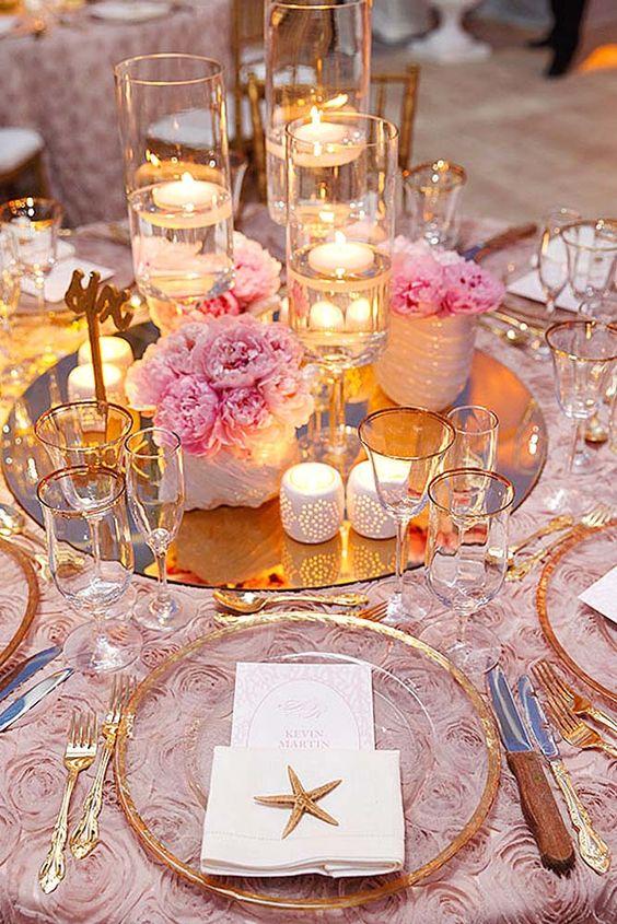 lustro na stole