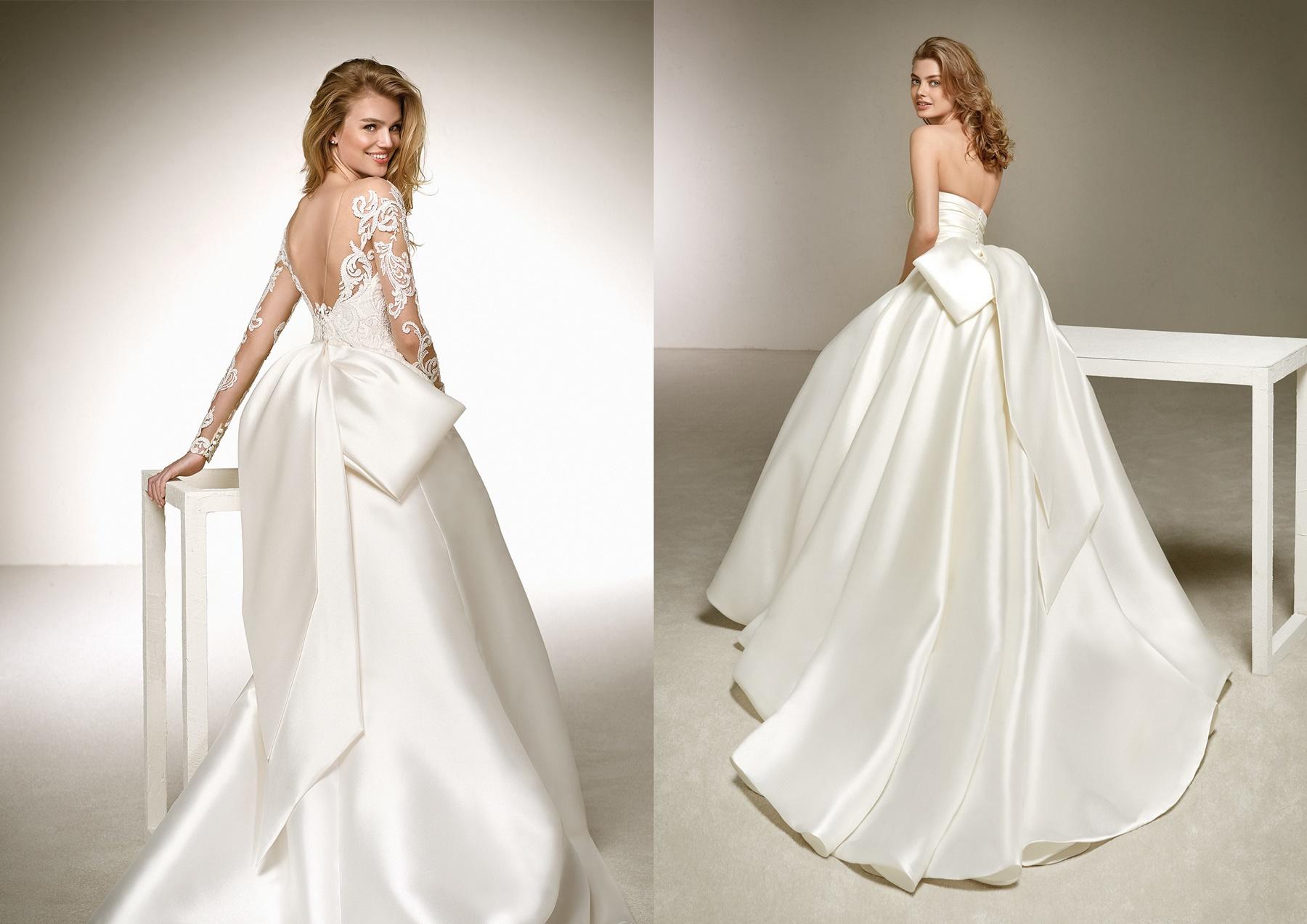 klasyczna suknia ślubna _ najmodniejsze suknie ślubne
