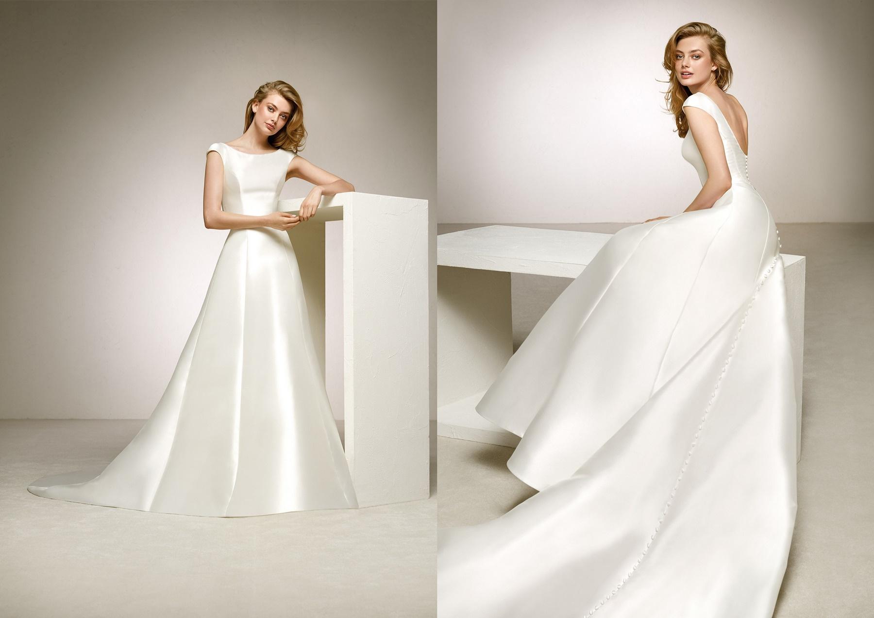 najmodniejsze suknie ślubne _ klasyczna suknia ślubna