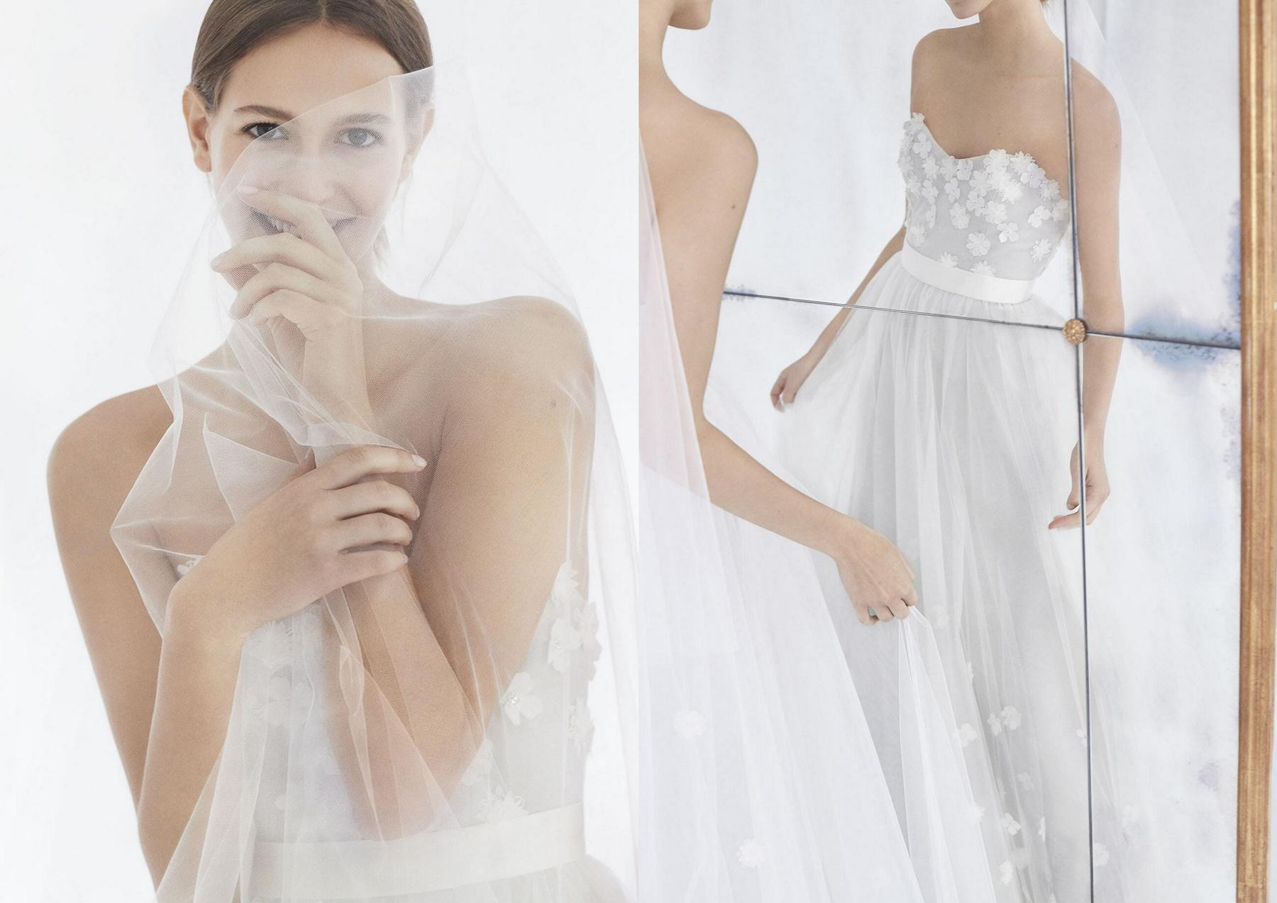 najmodniejsze suknie ślubne_proste suknie ślubne